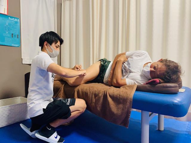 可動域改善には筋膜リリース